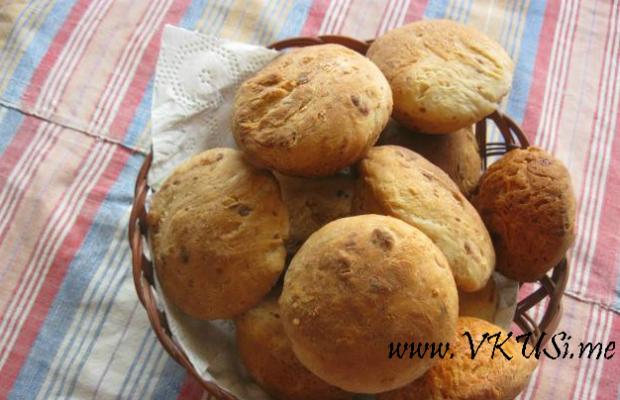 Хлебчета с кашкавал