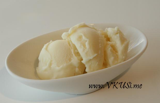 Домашен ванилов сладолед