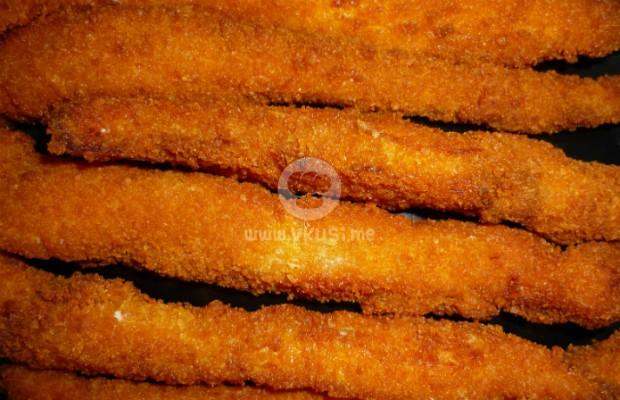 Хрупкави пилешки ленти