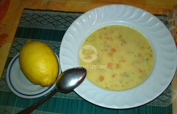 Супа от зеленчуков микс