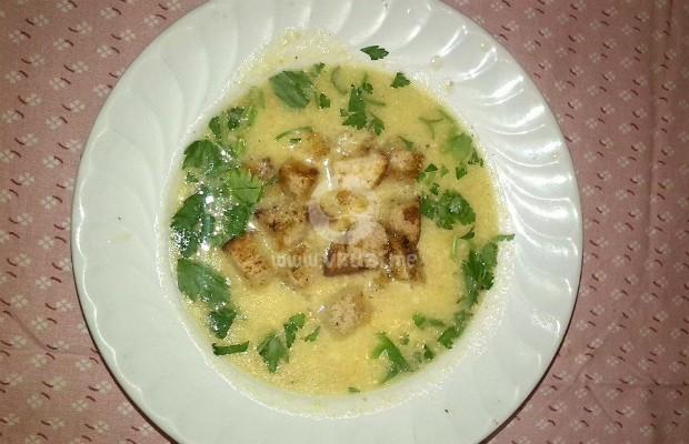 Крем супа от праз с картофи