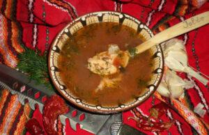 Тетевенска саламура (рибена чорба)