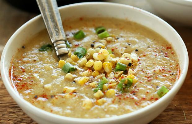 Лесна царевична супа