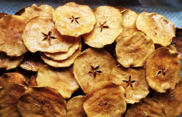 Ябълков чипс