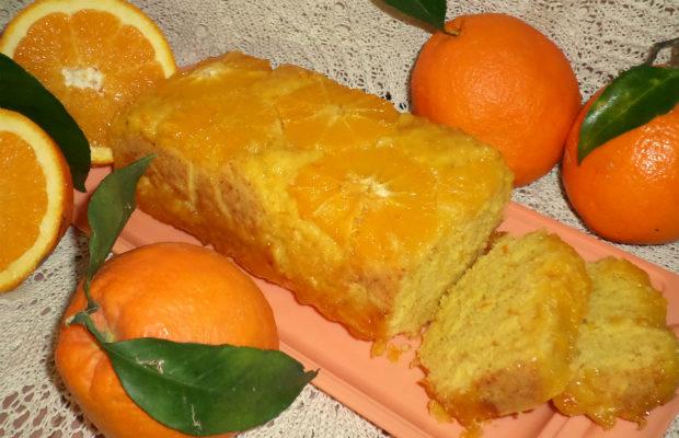 Сладкиш с портокалов мармалад