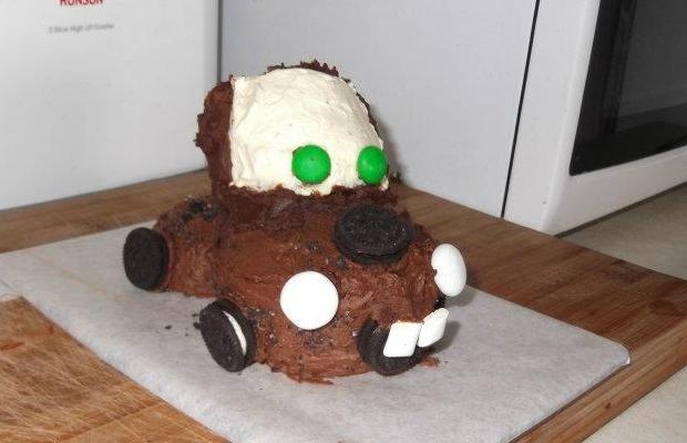 """Торта """"Автомобил"""""""