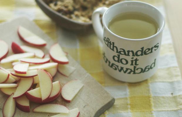 Ябълки и зелен чай - формулата за доброто здраве