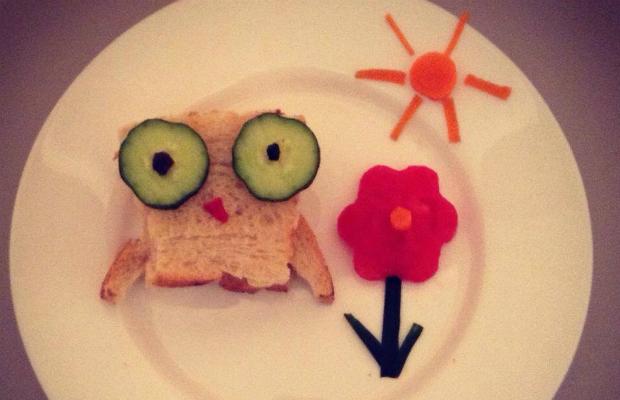 Весел и полезен сандвич