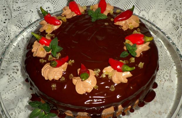 """Шоколадова чили торта """"Jolie"""""""