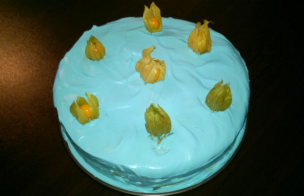 Тортата на Смърфиета