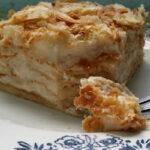 Бутер торта с баварски крем