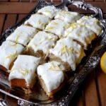 Лимонов кейк с глазура