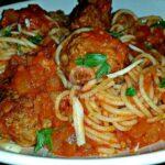 Мамините спагети с кюфтета