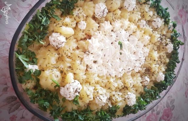 Пай с картофи и кайма