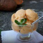 Сладолед от сладки картофи