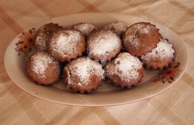 Брауни кексчета с фъстъчено масло