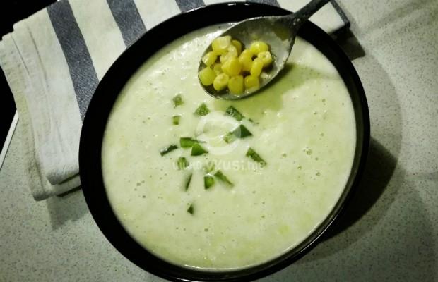 Крем супа от царевица