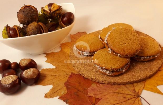Ароматни меки сладки с тиква и Nutella