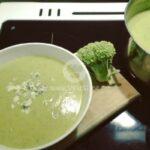Крем супа с броколи и тиквичка