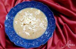 Супа с овесени ядки и сирене