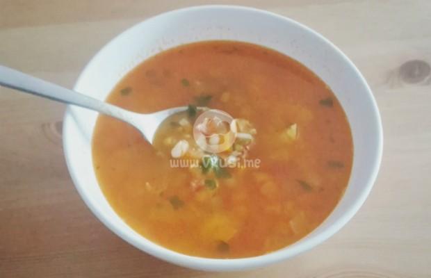 Вкусна супа Минестроне
