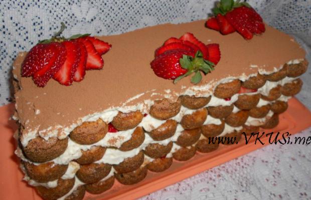 Тирамису с ягоди
