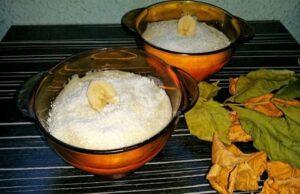 Крем с кокос и банани