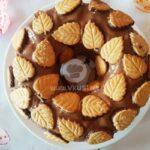 Цитрусов кекс с шоколад