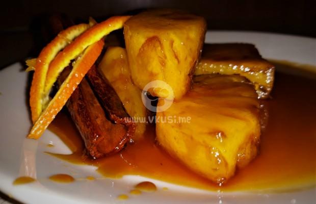 Карамелизиран ананас