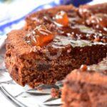 Лепкава шоколадова торта