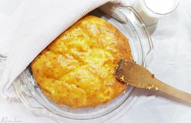 Бъркана питка със самардала и сирене