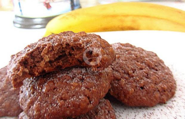 Овесени бисквитки с банан