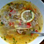 Селска супа с воденички