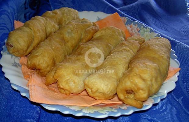 Пирожки с шунка и кашкавал