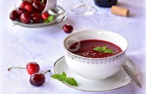 Сладка супа от череши