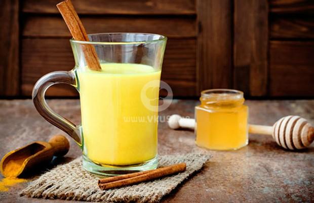 Чай от куркума и джинджифил