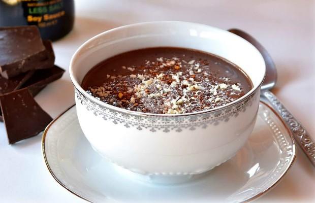 Шоколадова супа със соев сос