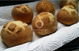 Постни хлебчета с черно, ленено и бяло брашно