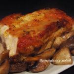 Свинско филе с бирен сос и гъби