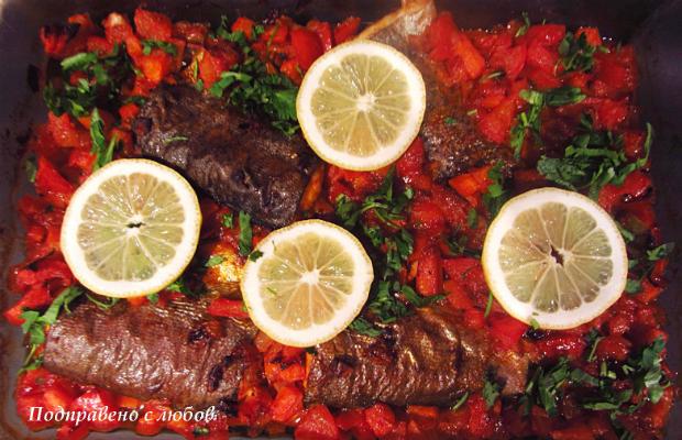 Риба на фурна плакия