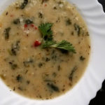 Млечна супа с коприва