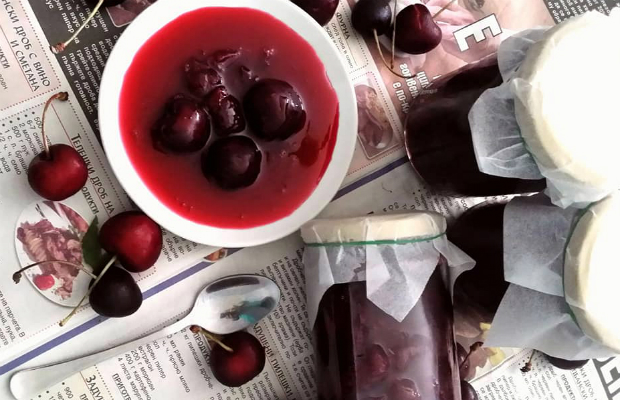Класическа рецепта за сладко от череши
