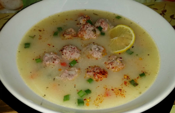 Моята супа топчета