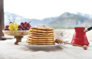 Овесени палачинки с мед