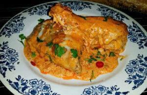 Пиле с вълшебен сос
