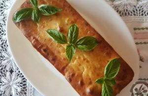 Бърканица със сирене, картофи и босилек