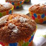 Мъфини с моркови и бадемово брашно