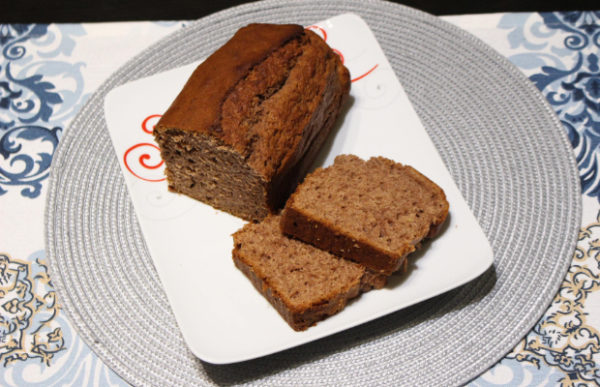 Бананов хляб с какао