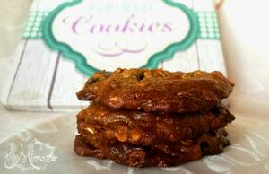 Бисквити с овесени ядки и тахан