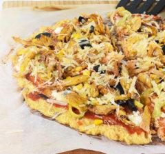 Протеинова пица от нахут